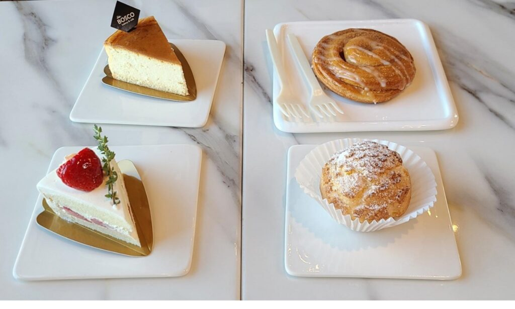 Pastries, La Bosco Café